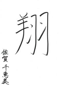 「翔」 2015年の一文字 弁護士 佐賀 千恵美